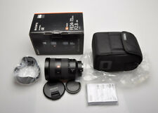 Sony FE 24-70mm f2.8 GM lens,Hood, Caps, EX ++++ to MINT, BOX, CASE, fits A1