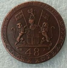 ANTIQUE 1794 one rupee united east India company coin 48 Cash