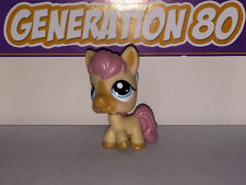 Littlest PetShop CHEVAL PONEY BEBE 1881 e033 BABY PONY HORSE Pet Shop