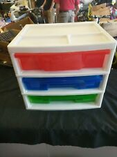 Toys Slide Out Drawer Organizer Holding Container Multi Color