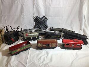Vintage Marx Tinplate Trains Set