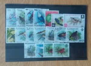 Thematic stamps,Birds