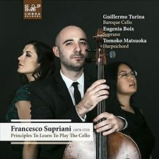 FRANCESCO SUPRIANI: PRINCIPLES TO LEARN TO PLAY THE CELLO NEW CD