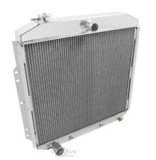 1953 1954 1955 1956 Ford F-100 Pickup Truck 3 Row Champion DR Radiator