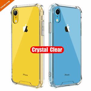 UK Clear Case for iPhone 11 Pro/ 8 7 Plus Anti-Shock Phone Cover Skin TPU Bumper