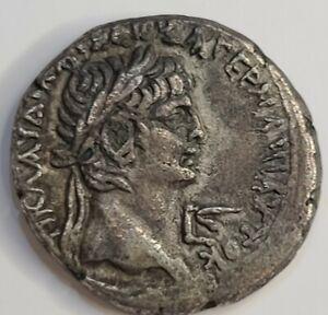 Emperor Claudius, Roman Tetradrachm of Alexandria, Egypt. VF. 46AD