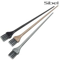 Sibel 3 x Metallic Professional Hair Tint Brushes For Hair Dying / Colouring