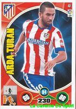 045 ARDA TURAN TURKEY ATLETICO MADRID CARD ADRENALYN 2015 PANINI