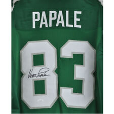NFL Philadelphia Eagles Vince Papale #83 Autographed Signed Jersey Green XL