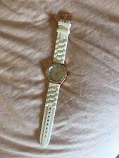 White And Gold Watch Darice
