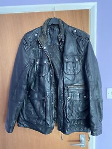 Austin Reed Men S Leather Outer Shell For Sale Ebay
