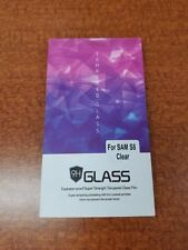 Samsung S8 Clear Tempered Glass Film Protector 9H HD Oleophobic
