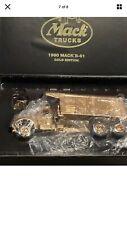 First Gear - 1960 Mack B-61 Gold Edition Dump Truck - 19-2678 NIB!!