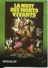 Night Of The Living Dead Gold Foil Chase Card  F4   La Nuit des Morts Vivants