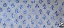 10 Yard Indian Hand block Print Running Loose Cotton Fabrics Printed Decor %20