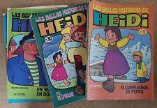 Las Bellas Historias de Heidi Coleccion Completa de 70 Tebeos.Bruguera