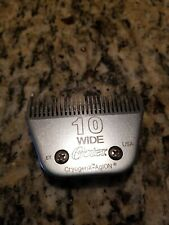OSTER Detachable Blade Size 10 W Dog Grooming Stainless Steel Clipper USA