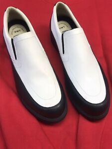 CALLAWAY Golf Women Shoes XLT Black/White Loafer Slip-on Sz 11 New