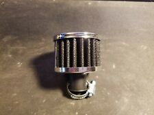 Rc Metal Nitro Air Filter (Black & Chrome) Fits Hpi & Traxxas & Other Vehicles