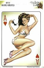 Pin UP Adesivo Decal Ace of Hearts artist Michael landefeld Rockabilly Vintage