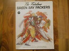 Old Vintage 1968 Magazine Booklet Fabulous Green Bay Packers Milwaukee Journal