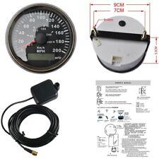 """Universal 85mm DIGITAL GPS Speedometer Gauge LED RED 3-3/8"""" For ATV UTV Golf"""