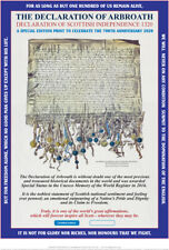 THE DECLARATION OF ARBROATH  700th ANNIVERSARY EDITION FINE ART PRINT