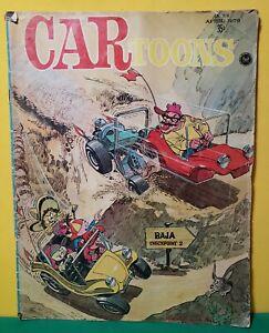 Vintage CARtoons Magazine, April 1970, Issue #52.  Petersen, Racing, Hot Rods