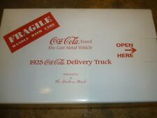 A Danbury mint Scale model of a 1925 Ford model T, Coca cola delivery truck,