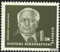DDR (RDA) 325 matasellado 1952 presidente William Pieck (II)