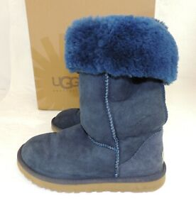 UGG BOOTS - Navy Blue Authentic Boots - Size 5.5 UK 38 EUR  -  Thames Hospice
