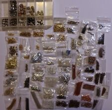 Assorted Beads : Findings (Gold, Silver, Copper, Rose Gold)