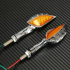 15 LED Skull Turn Signals For Kawasaki Vulcan VN 750 800 900 1500 1600 1700 2000