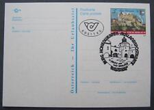 Postkarte Burg Hohenwerfen mit Ersttagssonderstempel