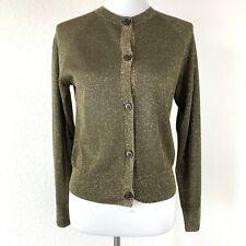 Dries Van Noten Womens Modesty Metallic Cardigan Sweater Size XS Long Sleeve NEW