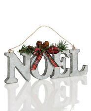 Holiday Lane Christmas Decor - Metal Noel Tree Ornament #192