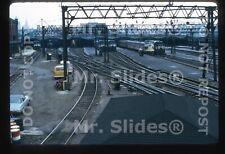 Original Slide EL Erie Lackawanna Hoboken Terminal In 1974