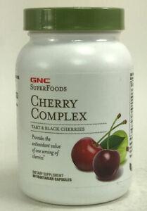 GNC SuperFoods Cherry Complex, 90 Vegetarian Capsules EXP 08/2022