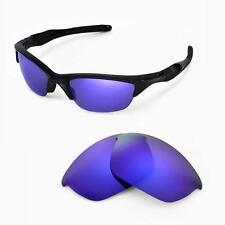 New WL Polarized Purple Replacement Lenses For Oakley Half Jacket 2.0