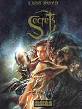 LUIS ROYO SECRETS ORIGINAL JAN 1996 1ST EDITION HARDCOVER BRAND NEW RARE OOP