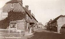High Street Rotherfield Saddler Shop Nr Crowborough unused RP old pc Manwaring