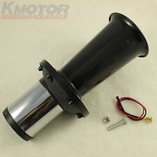 BLACK AHOOGA ANTIQUE VINTAGE STYLE 12 VOLT OLD FASHION CAR HORN HOT ROD KLAXON