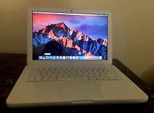 """Apple MacBook 13"""" UNIBODY A1342 INTEL C2D 2.4 GHZ 4GB 500GB SIERRA OS 2009/2010"""