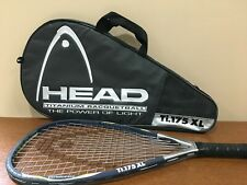 Head Ti 175 XL Titanium Racquetball Racquet With Case 3-5/8 Grip w/ Case