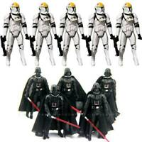 """Lot 5pcs Red Weapon Sword Lightsabers for 3.75/"""" Star War Figure Toys"""