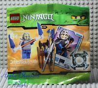 NEW Lego NINJAGO Ninja Kendo Jay Minifig & Weapons - Sealed Polybag Set 5000030