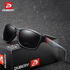 DUBERY Men's Polarized Square Sunglasses Outdoor Driving Fishing Sport Glasses