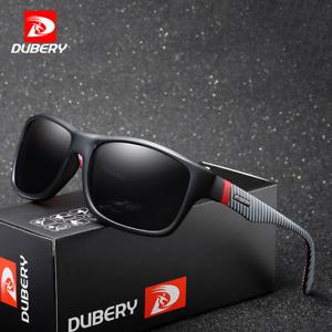 DUBERY Men's Polarized Sunglasses Outdoor Driving Riding Sport Coating Glasses