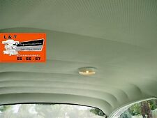 1955 Chevy 4 Door Sedan White Perforated Headliner USA Made Belair 210 150 Sedan