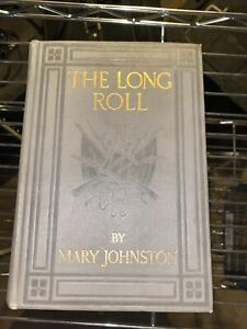 The Long Roll by Mary Johnston 1911 First Edition Illustrated by N.C. Wyeth
